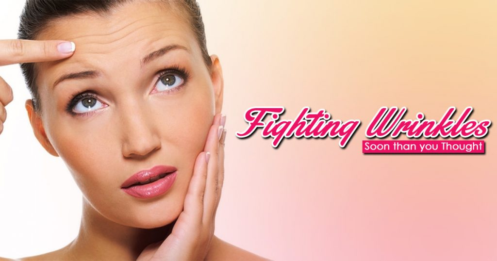 Fighting Wrinkles Soon than you Thought