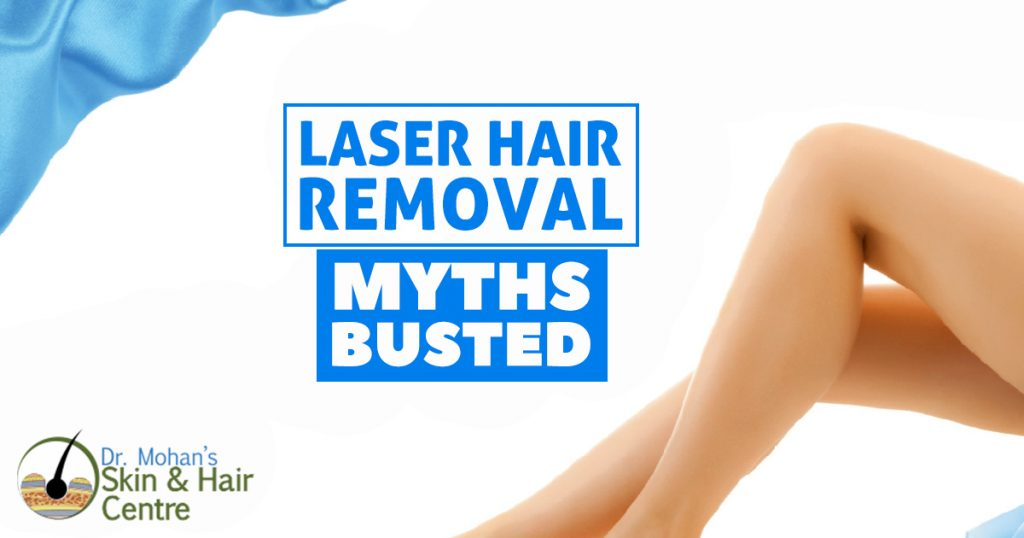 Laser Hair removal Myths Busted