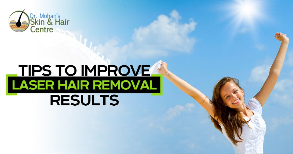 Tips To Improve Laser Hair Removal Results