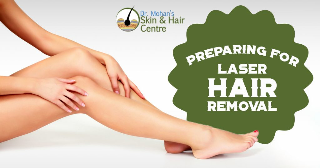 Preparing for Laser Hair Removal