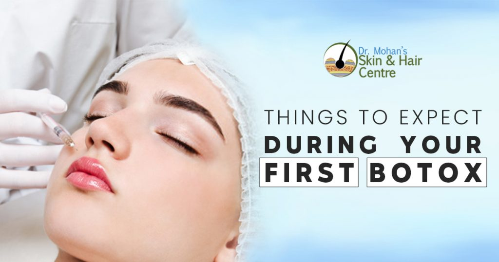 Things to expect During your first botox