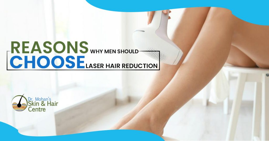 Reasons why men should choose laser hair reduction