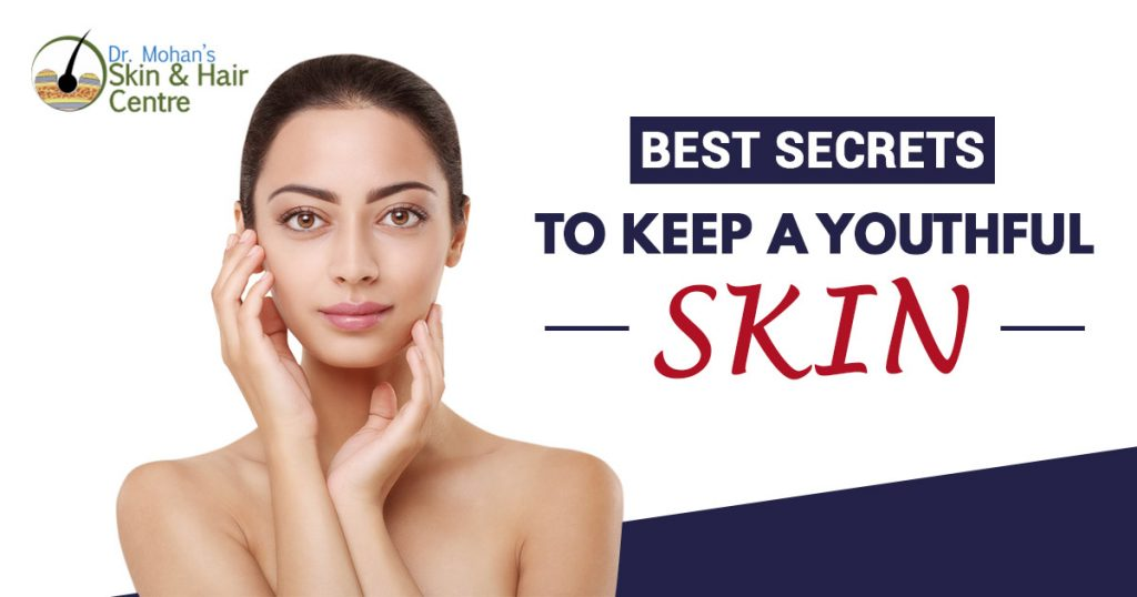 Best secrets to keep a youthful skin